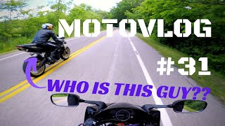 Who is this guy?? | Motovlog #31