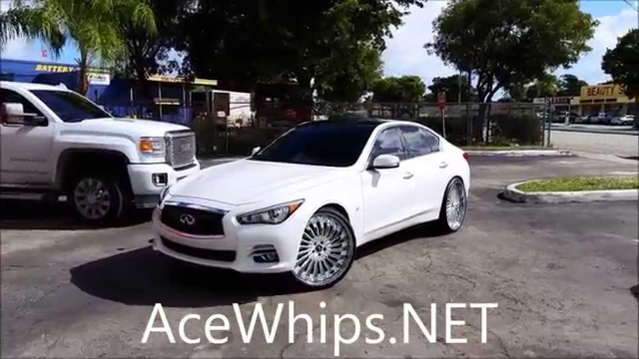 Acewhips Net First Ever 2014 Infiniti Q50 On 24
