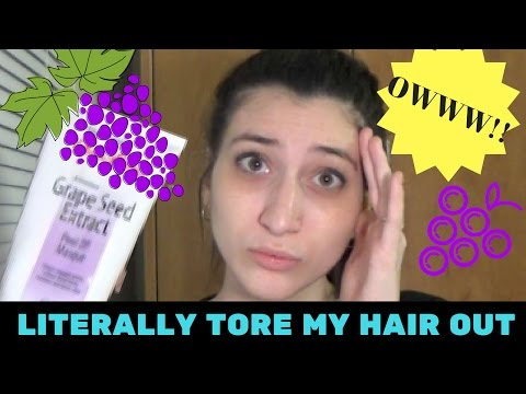 DOLLAR STORE FACE MASK RIPS OUT MY HAIR!!