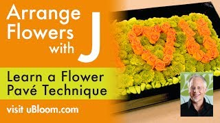 How to Spell out Words or Symbols with Flowers!