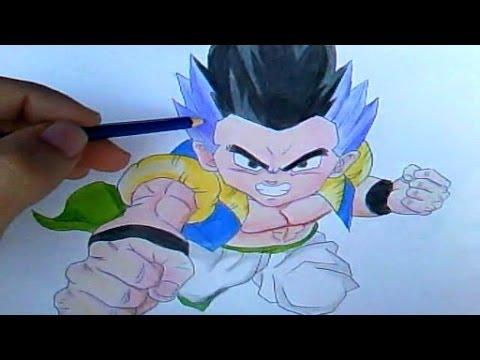 Como Desenhar Gotenks Dragon Ball Z Desenha Facil Youtube