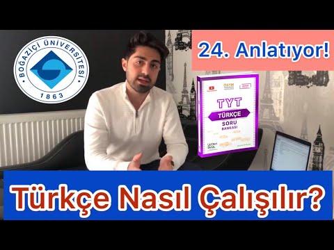 Türkçe Nasıl Çalışılır? (yks için taktikler)