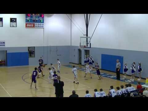 01/17/2017 HMS Bluebirds vs Campbell County Camels 7th Grade Basketball