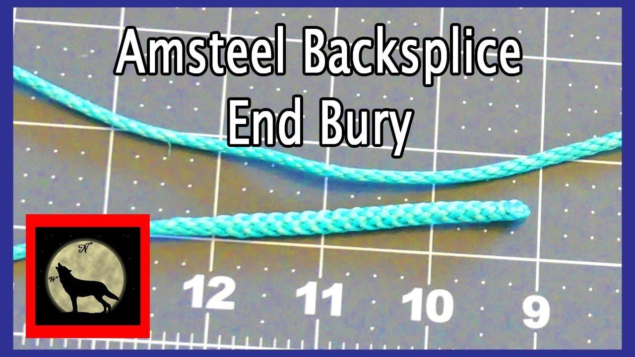 how to make amsteel backsplice end bury for hammock whoopie slings how to make amsteel backsplice end bury for hammock whoopie slings      rh   youtube