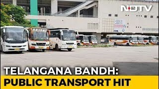 50,000 Cabs Go Off Telangana Roads As Transport Strike Enters Day 15