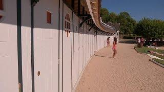 Les cabines de la plage de l