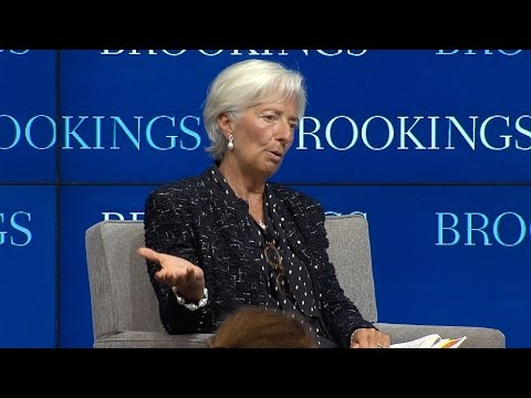 Implementing the post-2015 development agenda: A conversation with Christine Lagarde