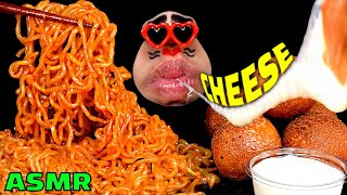 Noodle #Cheese #Cheesebal #asmr #mukbang #불닭볶음면 #먹방 Today's menu is Spicy fire Chicken Noodle and Cheese ball! This ramen is famous in ...