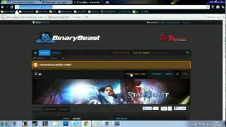 Como ingresar y crear un torneo en BinaryBeast.flv