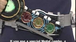 Kamen Rider OOO Toy Commercial (English Sub) thumbnail