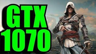 Assassins Creed IV Black Flag GTX 1070 OC | 1080p - 1440p & (4K) 2160p | FRAME-RATE TEST