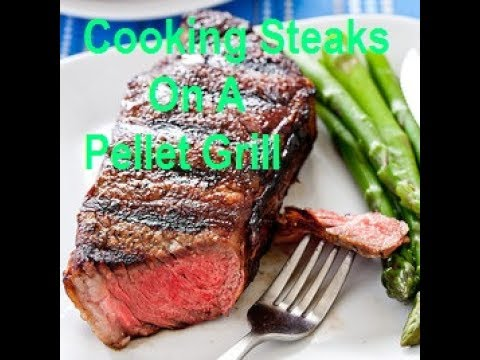 How to make steak on a pellet grill