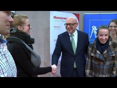 2017-11 HISE at CTU, Prague, Czech Republic, with Nobel Laureate Stefan Hell