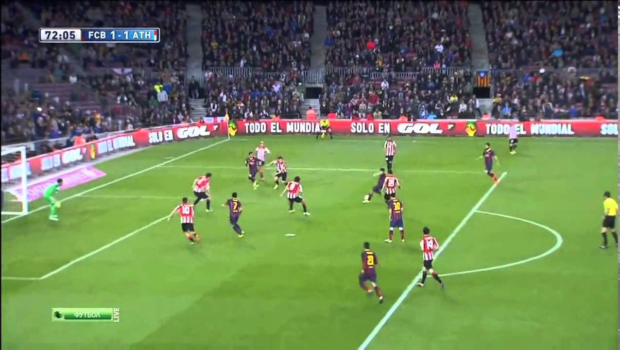 Атлетик– Барселона: Барселона Атлетик Бильбао 2-1