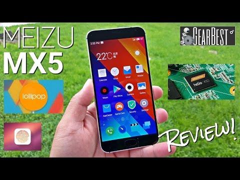 "Meizu MX5 - Full Review - Helio X10 MTK6795T - 3GB - Fingerprint - 5.5""FHD - 3150mAh - Flyme 4.5"