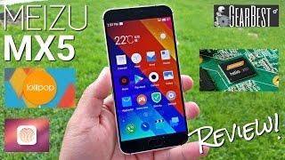 Meizu MX5 - Full Review - Helio X10 MTK6795T - 3GB - Fingerprint - 5.5