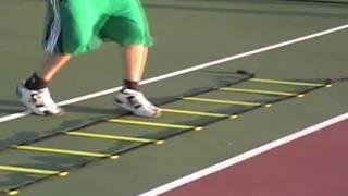 17  ejercicios de coordinacion con escalera 2