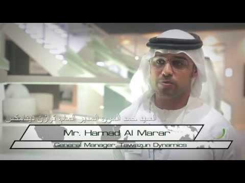 Dubai Air Show 2015 INTERVIEW   Mr  Hamad Al Marar, General Manager, Tawazun Dynamics