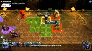 Might & Magic Heroes VI: Shades of Darkness - Naex, Dungeon Gameplay