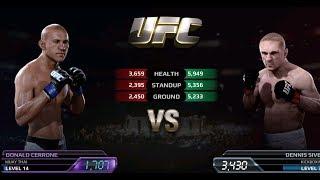 UFC EA Sports Boxing Donald Cerrone VS Dennis Siver Gameplay
