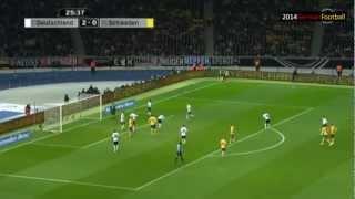 Deutschland Schweden 4:4 60min Himmel 30min Hölle Bartels (ard) Highlights WM 2014 Qualifikation