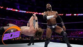 Alexander, Ali & Webster vs. Gulak, Drake &  Conners: WWE 205 Live, May 15, 2018