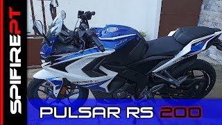 BAJAJ Pulsar RS200 - TestDrive & Review