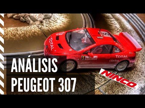 ANÁLISIS PEUGEOT 307 de NINCO | coche de Slot