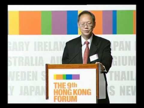 The 9th HK Forum - Philip Chen, Chairman, John Swire & Sons (China) Ltd
