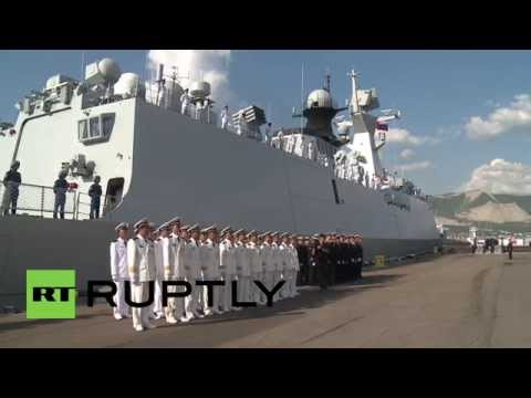 Russia: Chinese frigates depart Novorossiysk ahead of joint naval drills