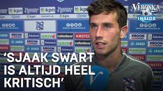 Jordy Bruijn over zaakwaarnemer Sjaak Swart: 'Hij is tevreden hoe het gaat'