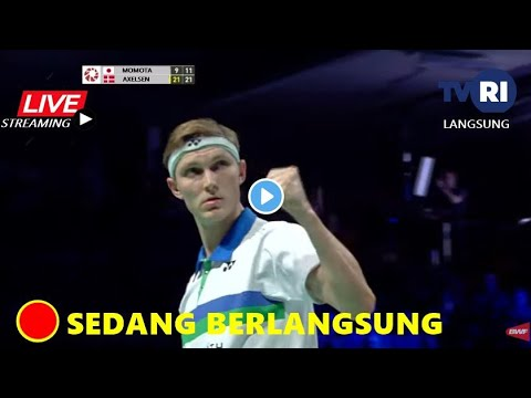 Download 🔴LIVE - Final Denmark Open 2021 | Kento Momota (JPN) vs Victor Axelsen Siaran Langsung TVRI Livescor