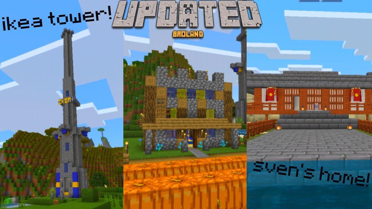 I Recreated Pewdiepies Entire Minecraft World Updated