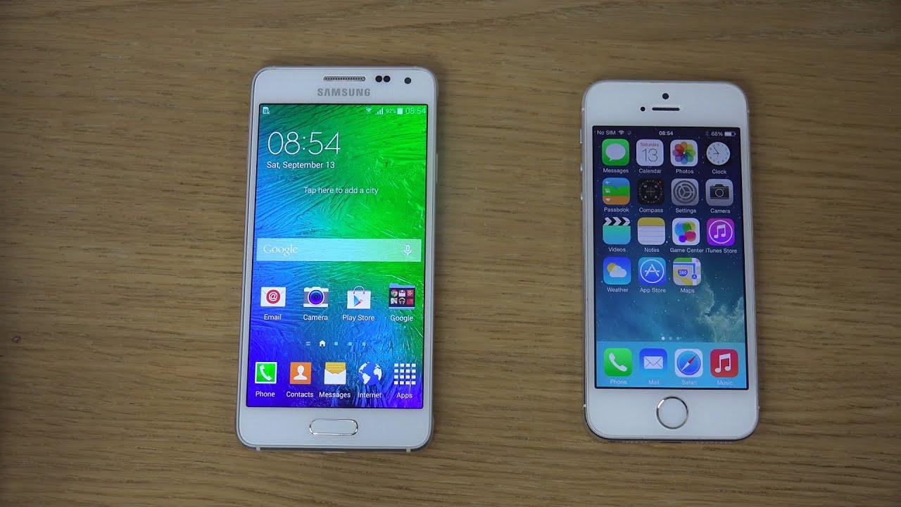 galaxy 5s vs iphone 6
