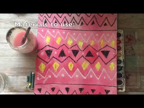 Preview image for Navajo Blanket K 5 Art Lesson