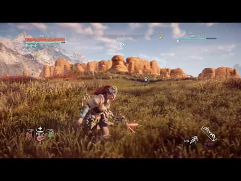 Horizon Zero Dawn 穢れ地帯 ロックブレイカー 必中の矢だけで倒す