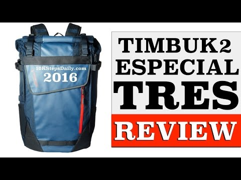 Timbuk2 Especial Tres Backpack Cycling Review