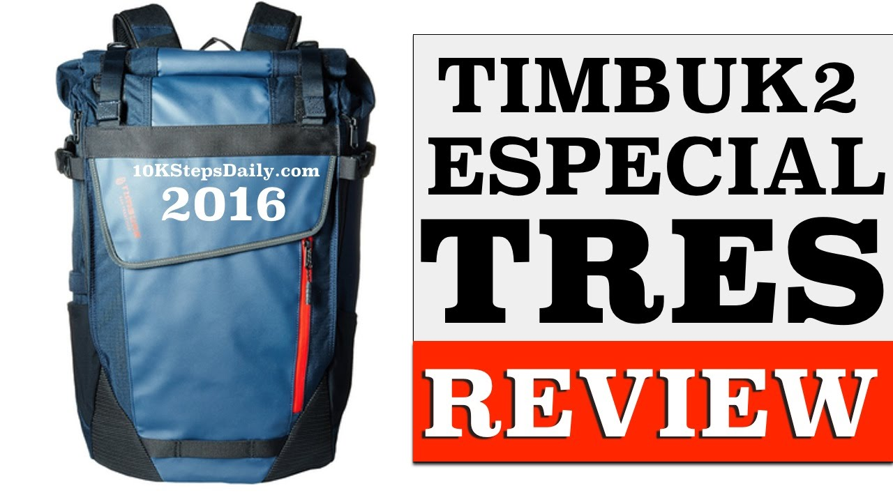 e17d2d270c Timbuk2 Especial Tres Backpack Cycling Review - YouTube
