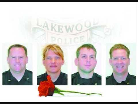 Lakewood Police Moment of Silence on the Radio.
