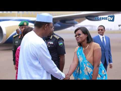 President Idriss Déby of Chad arrived in Rwanda for a one day visit