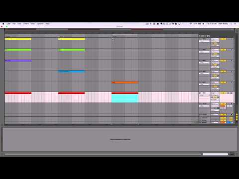 Structure and Arrangement in Electronic Music: Workflow (Building Blocks)