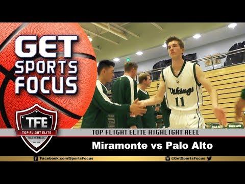 TFE Basketball Highlight Reel   Palo Alto vs Miramonte