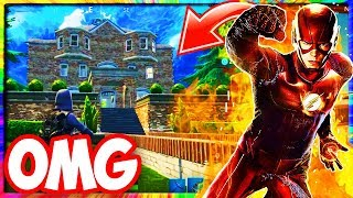NEW SECRET SUPER HERO MANSION in FORTNITE! (FORTNITE SEASON 4 *SECRET* LOCATION - NEW HIDDEN BASE)