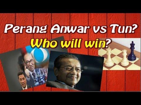 Anwar ibrahim sudah kena checkmate dengan tun mahathir?