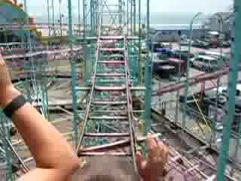 Galaxi (Galaxy) Roller Coaster - Old Orchard Beach, Maine