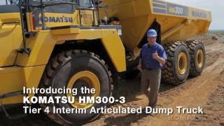 Komatsu HM300-3 Tier 4 Interim Articulated Dump Truck