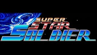 Classic TurboGrafx-16 Game Super Star Soldier on PS3 in HD 720p