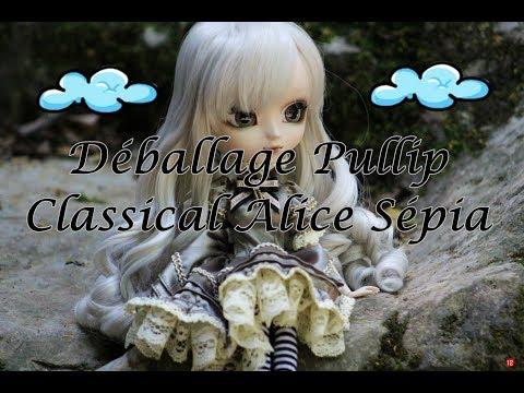 [Déballage] Pullip Classical Alice Sépia