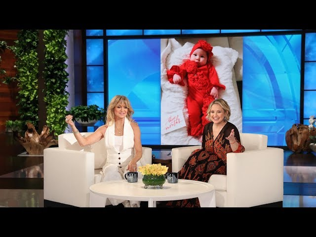 Goldie Hawn Got a Little Too Close to the Action During Her Granddaughter's Birth