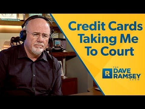 Credit Card Company Is Taking Me To Court!